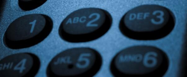 phone dial pad