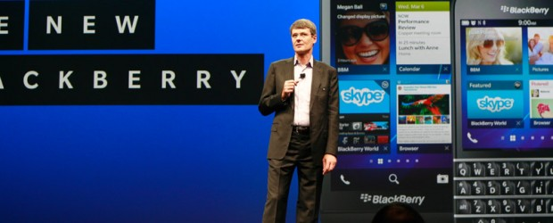 BlackBerry CEO Thorsten Heins at BBWorld 2013 - © IT World Canada
