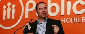 Public Mobile CEO Alek Krstajic in2010 © IT World Canada