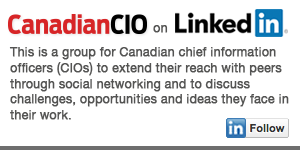 Join the Canadian CIO Linkedin Group