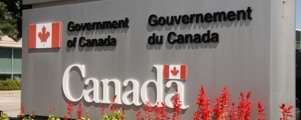 Canada government sign