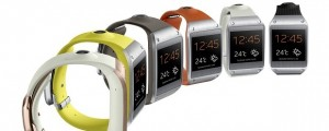 The Samsung Galaxy Gear smart watch