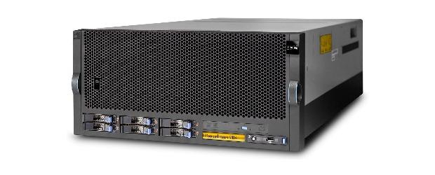 IBM PowerLinux 7R4 server. IBM photo