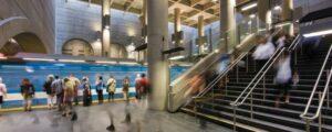 Metro Montreal subway