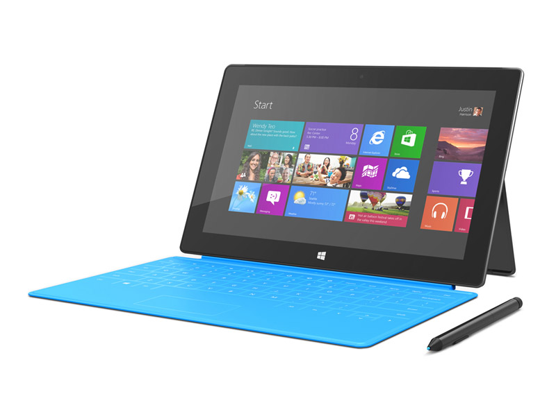 Microsoft Surface table with Windows 8 Pro