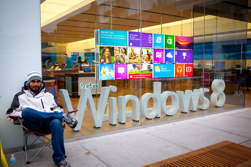 Microsoft Windows 8 launch 2012