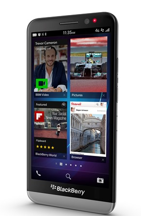 The BlackBerry Z30