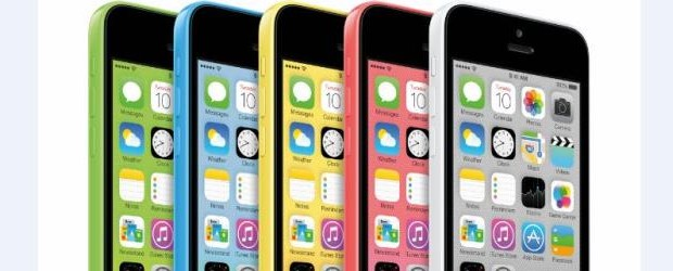 Apple's iPhone 5C come in five different colours