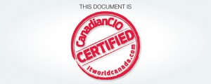 This Document is CanadianCIO Certified