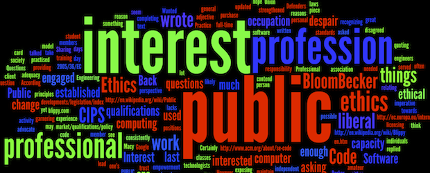 """Wordle made from """"Wanted: Defenders of the Public Interest"""""""