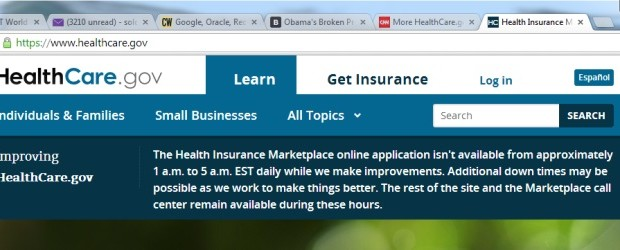 U.S. Healthcare.gov Web site Nov. 2013