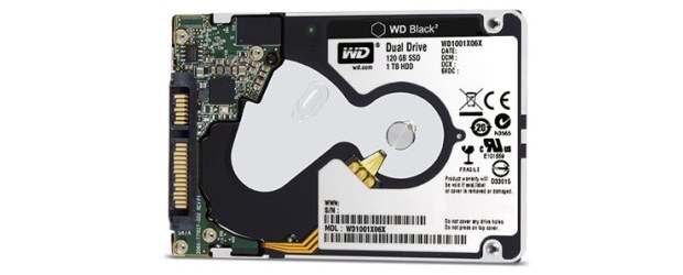 WD's Black2 combines solid state and spinning hard drives