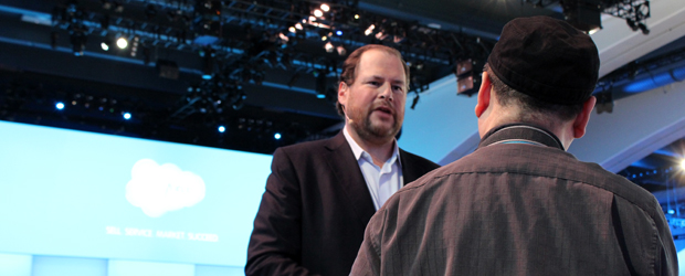 SalesForce CEO Mark Benioff