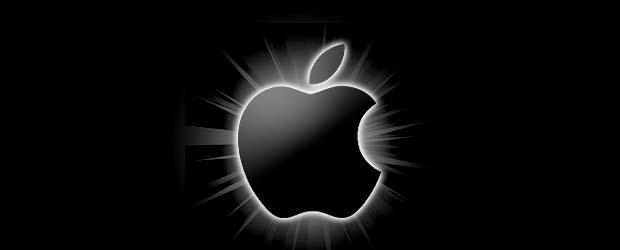 apple-black-glow-gradient