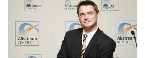 Dean Prevost, MTS Allstream at a Toronto event in 2010 (c) ITWC photo