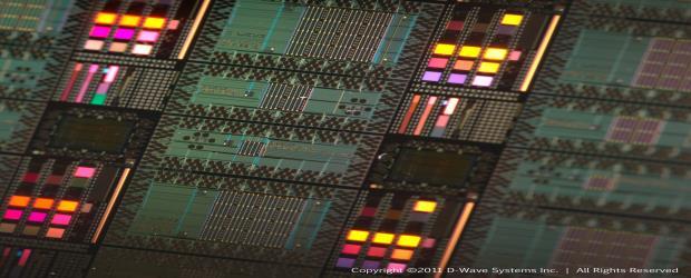 Image of a D-Wave quantum computer system