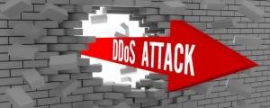 DDoS Attack Brick Wall