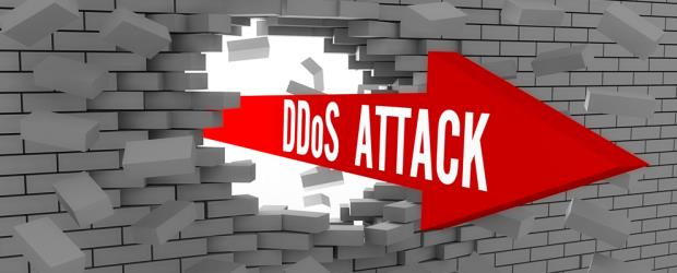 DDoS Attack Brick Wall