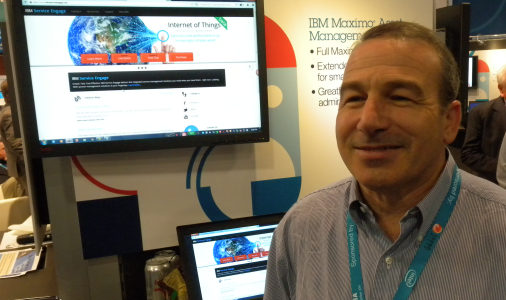 Dave Gasdia, IBM Maximo (ITWC photo)