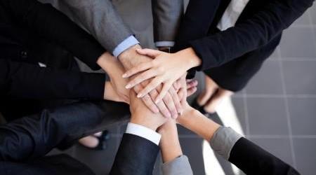 Team Handshake