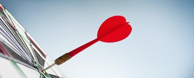SLIDE SHOW Dart, dartboard, target SHUTTERSTOCK