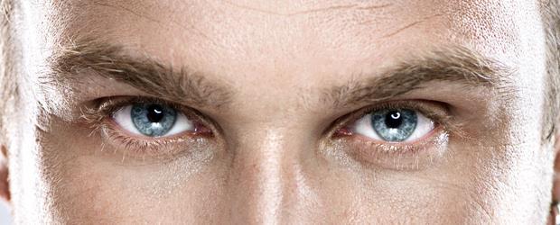 SLIDE SHOW Man's eye's SHUTTERSTCOK