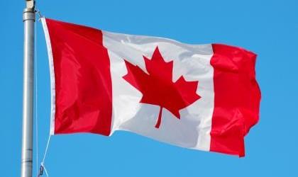 SLIDE SIZE Canadian flag SHUTTERSTOCK