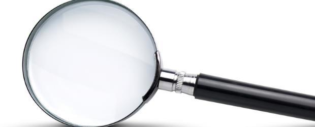 Slide show Magnifying glass SHUTTERSTOCK