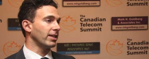 Wind Mobile chair Anthony Lacavera at 2014 Canadian Telecom Summit(c) ITWC staff photo