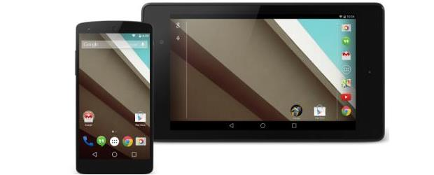 Devices with pre-release version of Android L