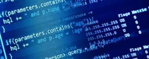 Computer Screen Code View