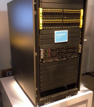 An HP StoreServ 7450array