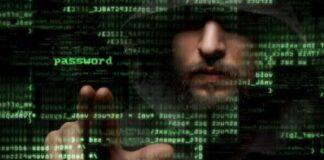 Matrix Style Password Graphic