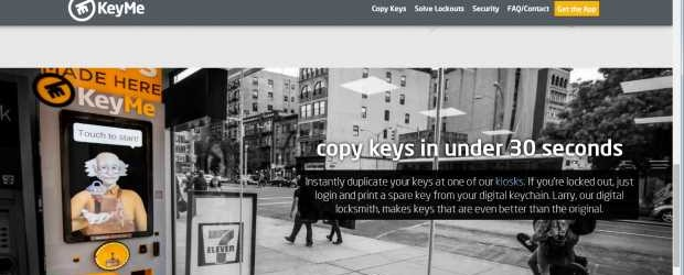 FEATURE KeyMe web site
