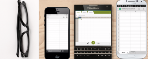 BlackBerry, mobile devices, mobile apps