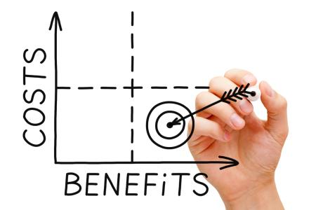 INSIDE SLIDE costs benefits graph ORIG SHUTTERSTOCK