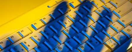 Keyboard in Shadows