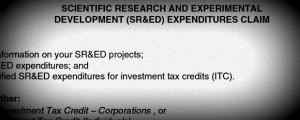 SR&ED Canada CIOs
