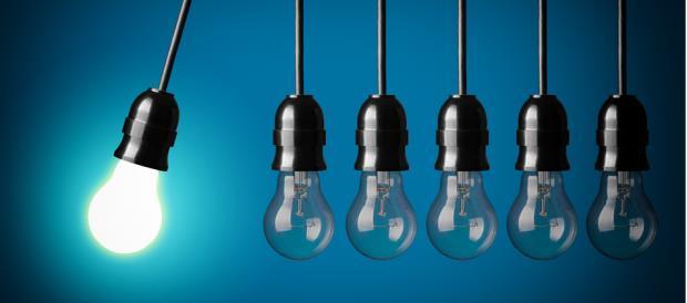 Light Bulbs - 1 Lit