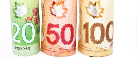 INSIDE SLIDE Canadian money SHUTTERSTOCK