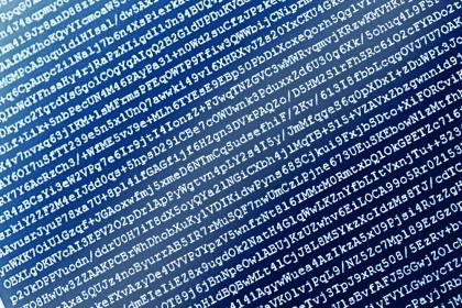 INSIDE SLIDE encrypted data SHUTTERSTOCK