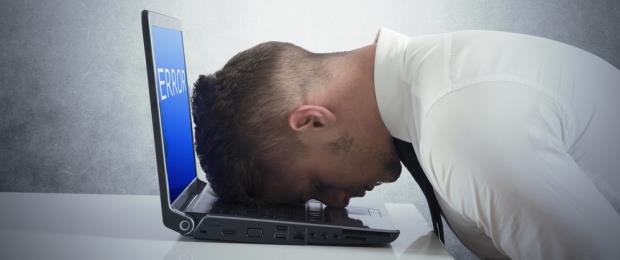 Disappointment - Head on Keyboard