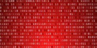 Encryption Red Background