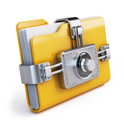INSIDE SLIDE lock file SHUTTERSTOCK