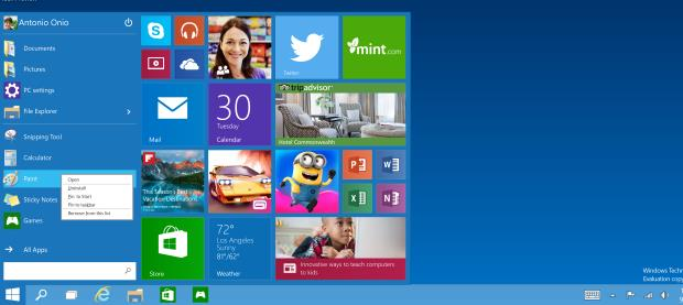 Microsoft, Windows 10, operating system