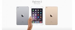 The iPad Mini 3