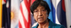 Navi Pillay, UN high commissioner for human rights,