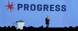 Phil Pead, Progress CEO, at Progress Exchange 2014. (Image: Progress Software).