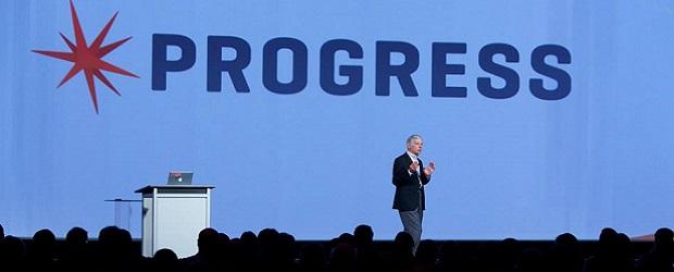 Phil Pead, Progress CEO, at Progress Exchange 2014. (Image: Progress Software).
