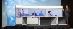 Cisco's Rowan Trollope unveils the Cisco TelePresence IX5000 series.